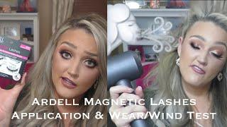 ede951bb5f0 Ardell Magnetic Lashes | Application | Hack | Wear/Wind Test ????