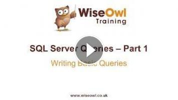 SQL Server Queries Part 1 - Writing Basic Queries