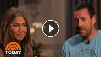Jennifer Aniston, Adam Sandler Talk 'Murder Mystery' And 30