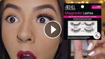 78d84f3c4d1 Hey guys, For this weeks video I'm going to be testing out magnetic lashes  for the first ever time! I'll also tell you the best way I find to apply th.