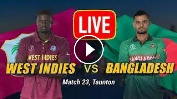 West Indies vs Bangladesh Live, Match 23 | Gtv Live | জিটিভি