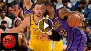 d326e92ab239 Los Angeles Lakers vs Golden State Warriors Full Game Highlights