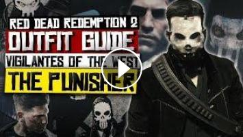 The Punisher Outfit Guide - Red Dead Redemption 2 (Vigilantes Of The