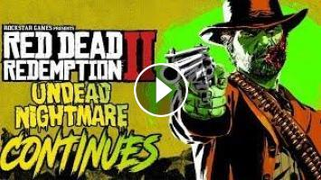 UNDEAD NIGHTMARE CONTINUES - BIG UPDATE COMING SOON?!? - RED