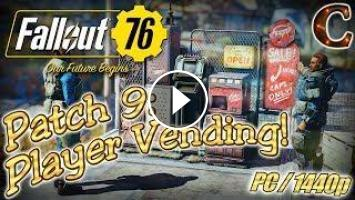 Fallout 76 Live Stream, PC/1440p, Part 52: Patch 9, Ever Upwards