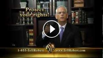 Fort Lauderdale Accident Lawyer Tell Robert, Your Injury Lawyer 24