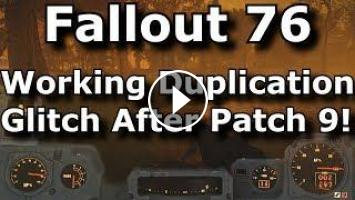 Fallout 76 New Duplication Glitch After Patch 9! Whitesprings Waiter